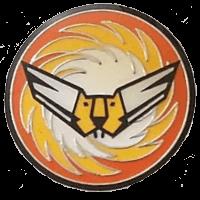 סמל טייסת 107 אבירי הזנב הכתום גרסה 1
