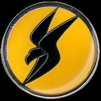 סמל טייסת 166 ציפורי האש גרסה 1