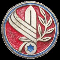 סמל יחידת מוצבי שליטה קדמיים - משל''ק גרסה 1
