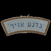 סמל תג כתף גדנ''ע אוויר גרסה 1